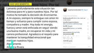 Angélica Rivera anuncia su divorcio con Enrique Peña Nieto | De Primera Mano