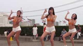 4月30日CDデビューしたばかりのミスマリが新潟のやすらぎ堤川まつ...