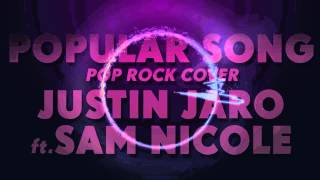 Mika ft. Ariana Grande - Popular Song | Pop Rock Cover ft. Sam Nicole | FREE DOWNLOAD