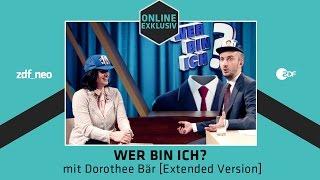 Wer bin ich? mit Dorothee Bär [Extended Version] | NEO MAGAZIN ROYALE mit Jan Böhmermann - ZDFneo
