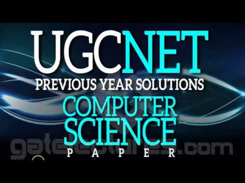 UGC NET Computer Science JUNE 2014 Paper 2 Solutions Q1 to 10