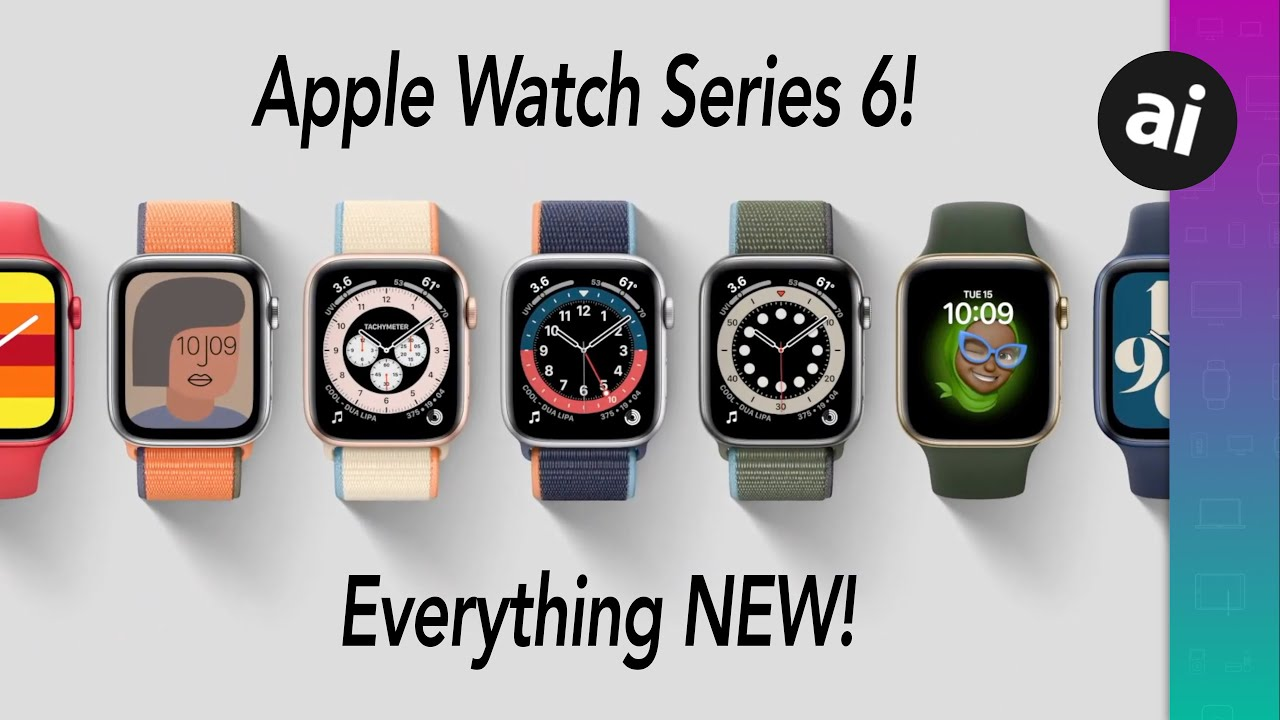 New Apple Watch Series 6 has blood oxygen sensor & bright new colors