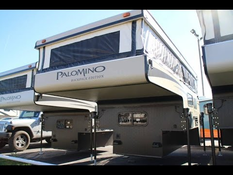 2016 Palomino 1251 Backpacker Truck Camper