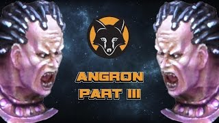 how to paint angron part iii painting the face kujo painting tutorial