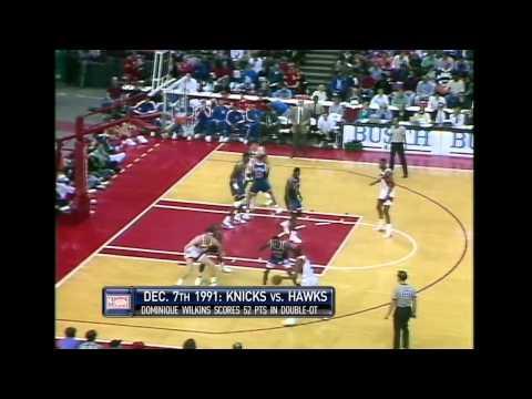 Kevin Willis (20pts/20rebs) vs Knicks (1991)