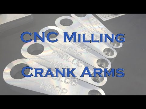 CNC Milling - Handle Crank Arms
