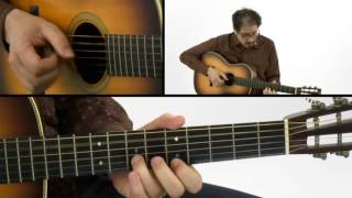 Fingerstyle Blues Guitar Lesson - #11 Slow Fuse - David Hamburger