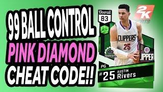 NBA 2K17 - MyTeam - 99 Ball Control - Pink Diamond Cheat Code