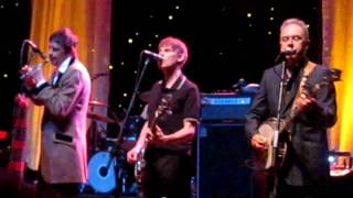 the pogues performing sunny side of the street at the royal oak music theater