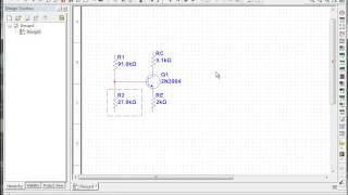 Multisim transistor bias