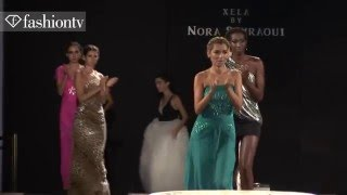 Xela Fashion with Mikaela of ANTM | Desiger Nora Sahraoui @ Miami   FTV