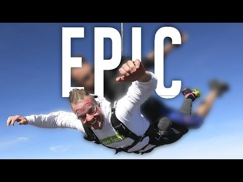 The Craziest Thing I've Ever Done (JUMPING OUT OF A PLANE)