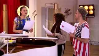 The Voice UK Team Jessie J - Jessica Hammond Vs Vince Kidd : Rehearsal & Comment