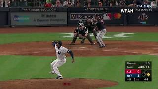 Aroldis Chapman 5 Out Save vs Indians | Yankees vs Indians Game 3 ALDS