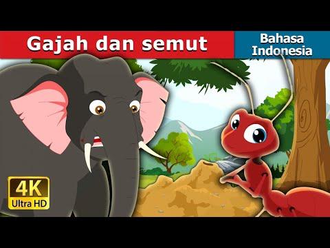 Gajah Dan Semut | Dongeng Anak | Kartun Anak | Dongeng Bahasa Indonesia