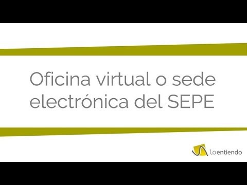sede electronica del sepe youtube