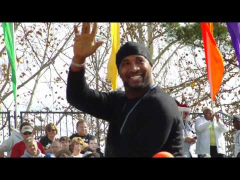 Florida Citrus Parade 2010: Daunte Culpepper