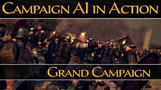 Total War: Attila - Campaign AI in Action! - Grand Campaign