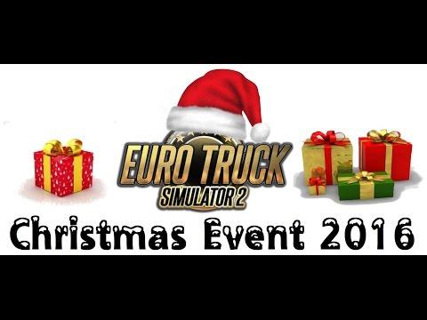Euro Truck Simulator 2 | Christmas Event 2016 Kristiansand - Genève
