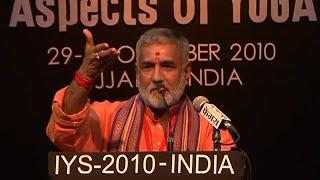 IYS-2010-Ujjain Opening Ceremony 4 Pt Vijay Shankar Mehta.mpg