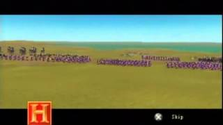 The History Channel: Great Battles of Rome, a quick l@@k