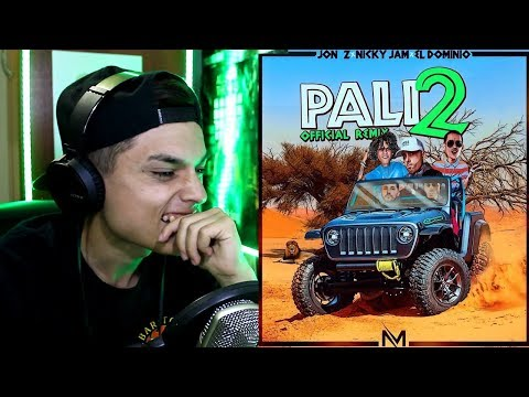 [Reaccion] MYM - Pali 2 (Remix) (Lyric Video) ft. Jon Z, Nicky Jam & Ele A El Dominio - Themaxready