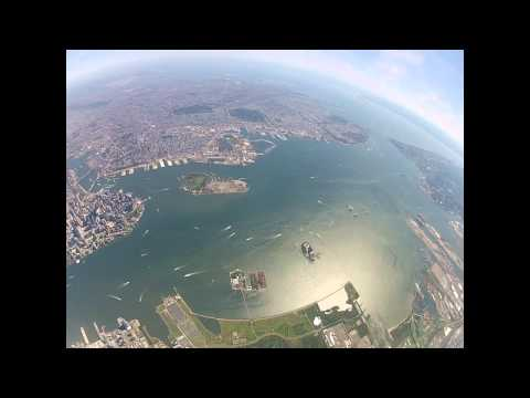 GoPro Aerial Video - NewYork New Jersey Metropolitan Area from 8000 Feet - August 8, 2013