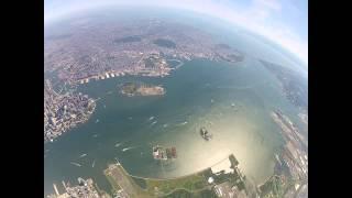 GoPro Aerial Video - NewYork New Jersey Metropolitan Area from 8000 Feet - August 8, 2013