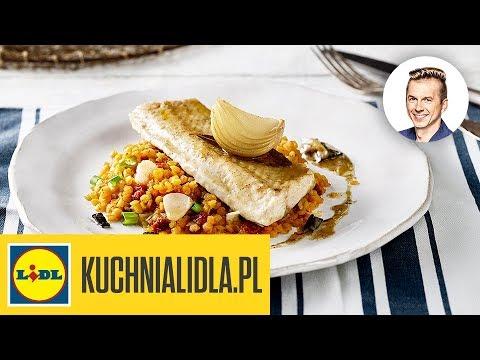 Jesiotr Maslany Z Soczewica I Sosem Karol Okrasa Kuchnia Lidla Youtube