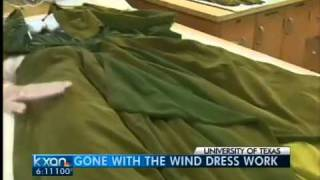 'Gone With the Wind' curtain dress irreparable
