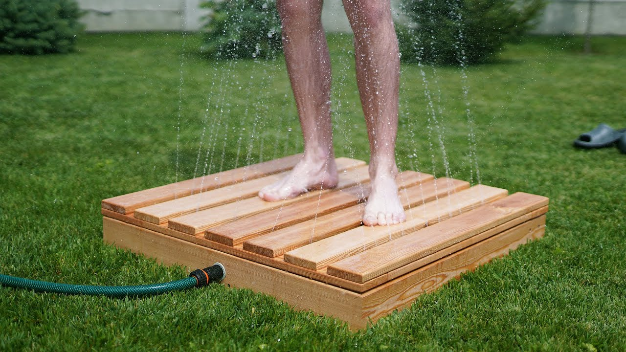 Upgrade your Backyard with Inverted Shower