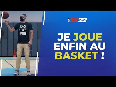 NBA2K22 : Je commence le mode carrière (Université et G League)