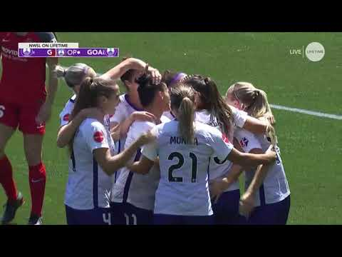 GOAL: Alex Morgan scores her first goal of the season