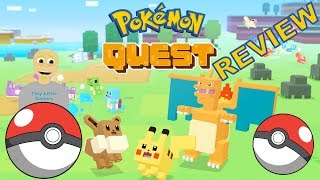 Pokemon Quest Android Gameplay Review (RPG)