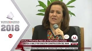 Margarita Zavala propone reforzar vigilancia carretera