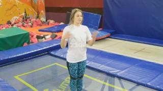Акробатика на батуте для начинающих