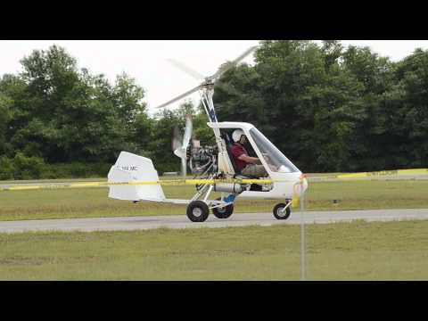 Benson Days Gyro Copter Fly In