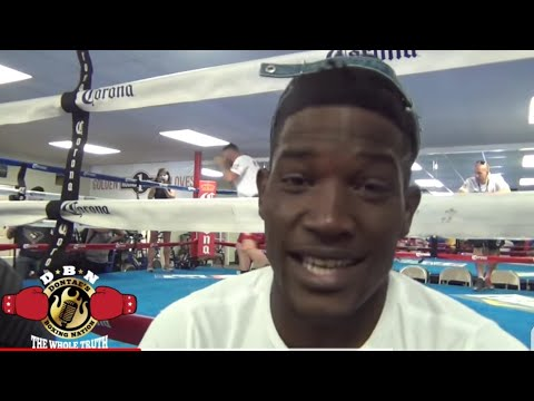 """(EXCLUSIVE) """"CHARLO MAKES A LOT OF MISTAKES..LUBIN TRAINS FOR KO"""" TRAINER GALARZA"""