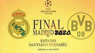 Real Madrid v Dortmund FIFA19