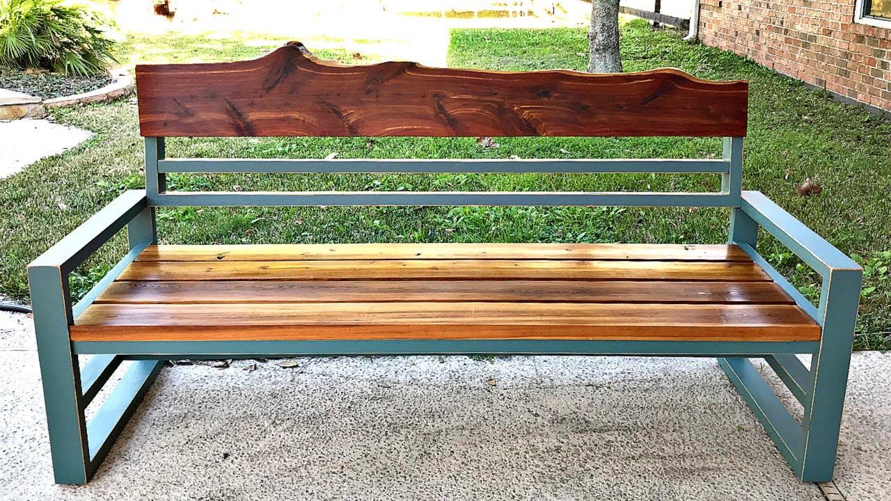 Diy Outdoor Sofa From 2x4 Pine Build
