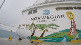 Norwegian Getaway Ship, May 2018