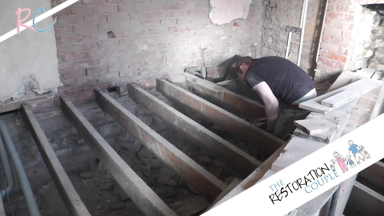 Removing  Insulating and Restoring a Suspended Wooden Floor  Part 2     Removing  Insulating and Restoring a Suspended Wooden Floor  Part 2 of 3    YouTube