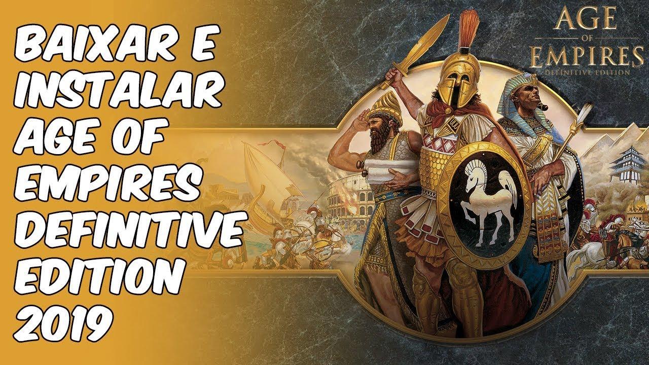 Como baixar e instalar Age of Empires: Definitive Edition (Pt-br)