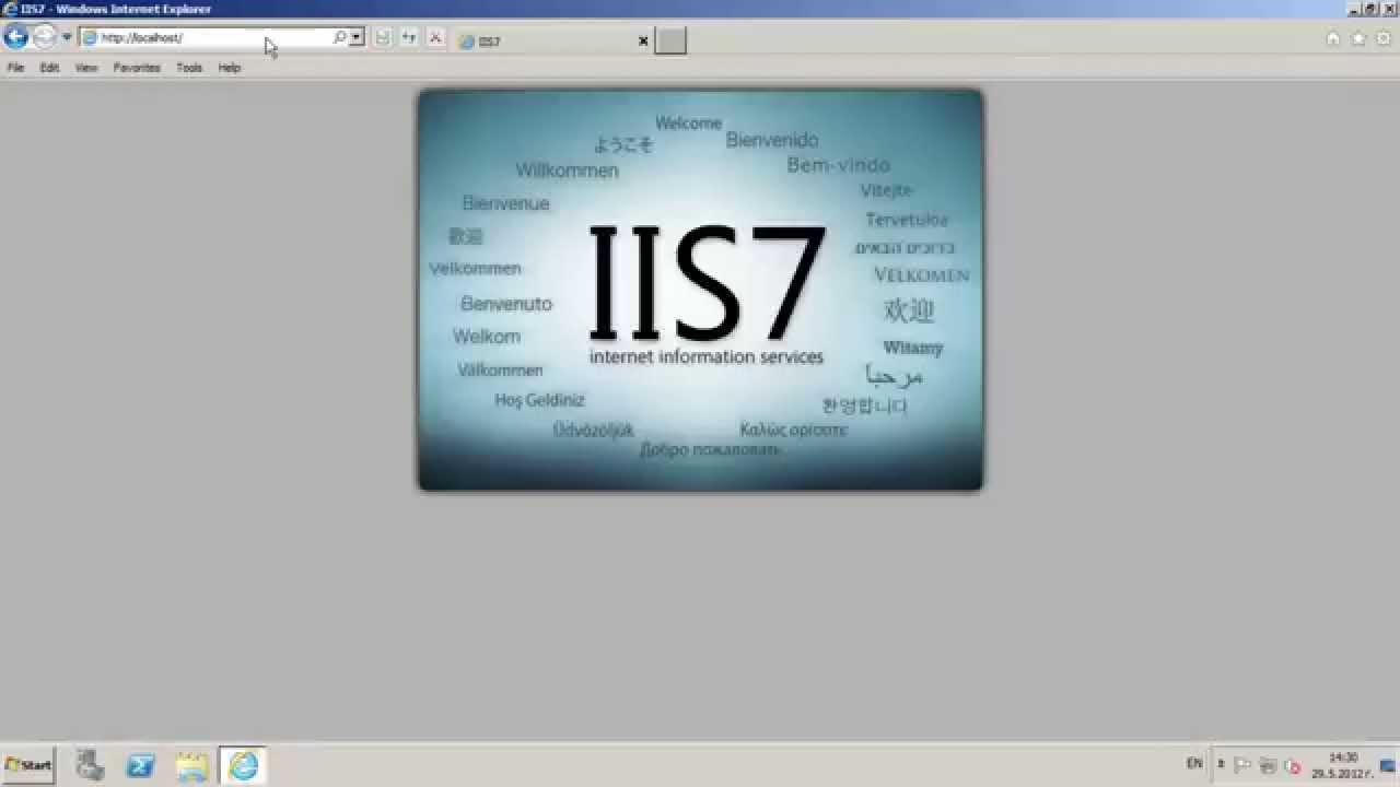 install iis 7 on windows server 2008 r2
