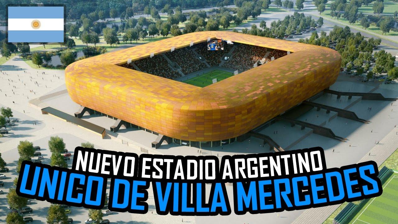 Circuito La Pedrera : Nuevo estadio Único de villa mercedes en argentina parque la