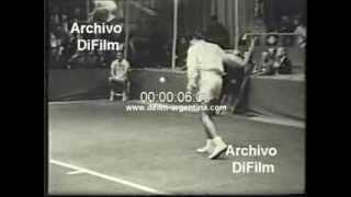 DiFilm - Charlie Pasarell wins Philadelphia Tennis 1967