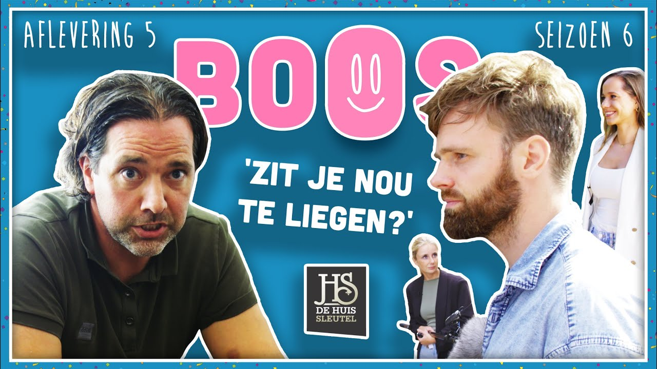 WESSEL IJSEBAERT van DE HUISSLEUTEL vroeg jarenlang FOUTE KOSTEN & WEIGERT TE BETALEN | BOOS S06E05