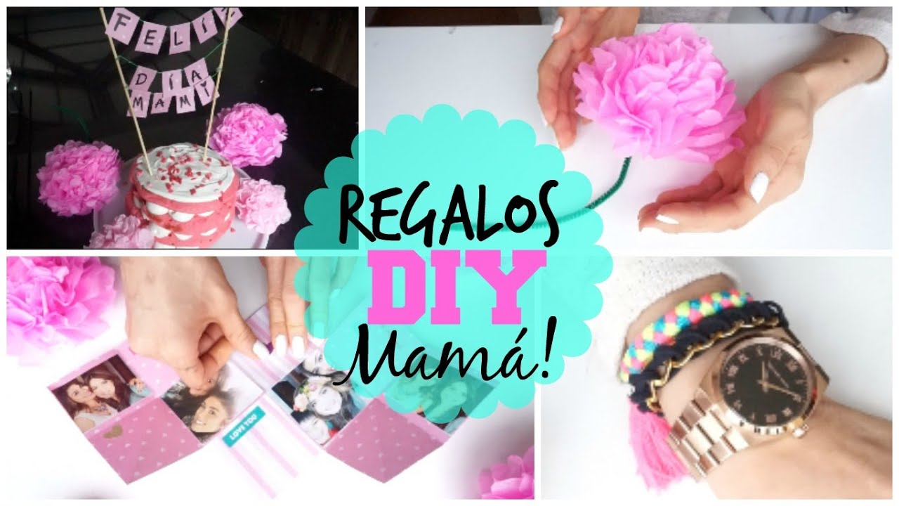 Regalos f ciles para mam diy pautips youtube for Ideas para mama