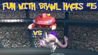 Fun With Brawl Hacks #15: Shiny Genesect vs Mega Mewtwo Y! [1080p]