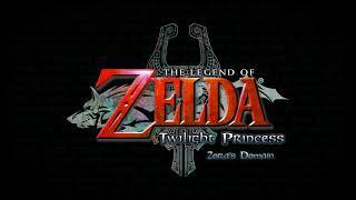 Legend Of Zelda: Twilight Princess - Zora's Domain Ambiance (water, ambient music)
